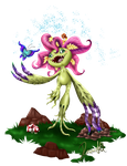Palmon - Digital monster Collab! by allocen