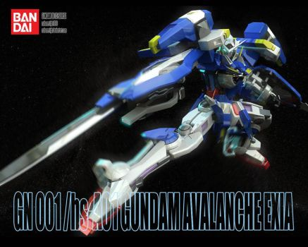 Mobile Suit Gundam 00v by nahumreigh