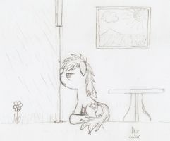 Stuck at home by dredaich