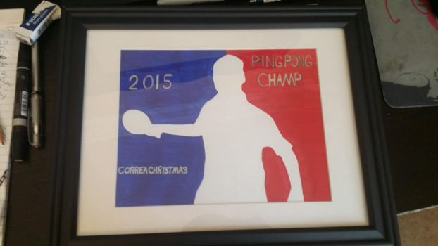 christmas eve ping pong award 2015 by Bactate