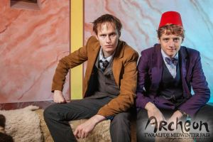 Midwinter Fair 2014 Archeon with Eleventh Doctor 1 by JaccoHeerdt