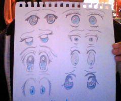 Shocked Anime Eyes by thed3vilssmile