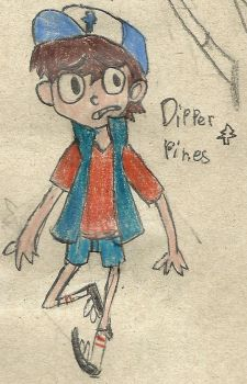 Dipper Pines by TheLadyInGrey