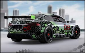 Autemo Tesla Race Car by ollite20