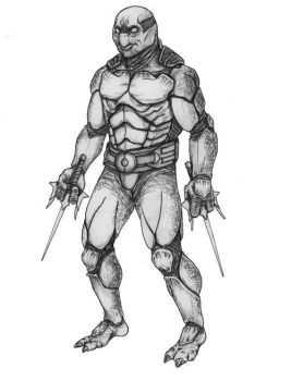 TMNT Concept Sketch Front by EdgePang