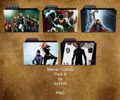 Marvel Comics Folder Pack 9 by 3o1415
