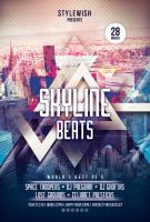 Skyline Beats Flyer by styleWish