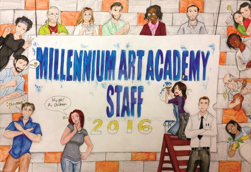 Staff Cover Page by Fast-Fish