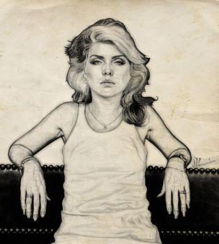 debbie harry_love blondie by scarecrowbarr