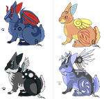 Wolpertinger Adopts -open- by HollowThinker