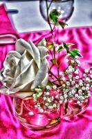 Rose Gipsofil et Lierre by KIKIphotolove