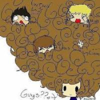 Harry's Curly Hair by SmartSong1