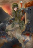 Trenches by Armorian