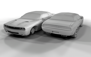 Dodge Challenger Clay by DaBanch
