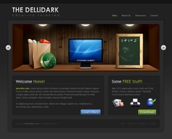 DelliDark Main by dellustrations