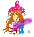 Clownpiece [w/speedpaint] by Emilyfly99