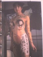 body painting by BlueVagabond