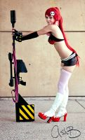 Yoko Ritona Cosplay by MortuaryMadness