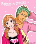 Pink(Zoro Nami) by BelleLoveZoro