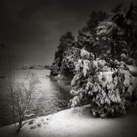 Porec in snow II... by Kaarmen