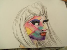Step 2: Nicki Minaj by doveangel123