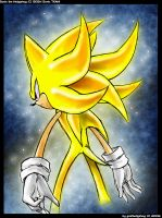 +sUPER sONIC by goldhedgehog