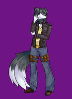COMM::Pierre.Anthro: by Rayne-Is-Butts