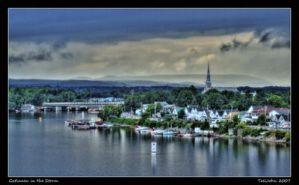Gatineau in the Storm by UrbanShots