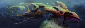Sea Monster Final by ryanmalm