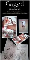 :SoldOut: Caged Sketchbook by Doria-Plume