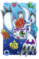 Marching Fishes by OniKomori