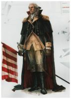 Concept_art_George_Washington by Mcpricorn