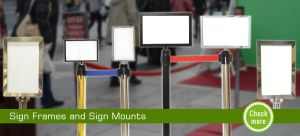 Sign Frames and Sign Mounts by Emilledeep