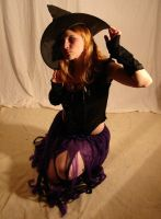 Jodi Purple Halloween Witch 15 by FantasyStock