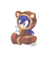 Cute Teddy Baby Algetar by sonicartist16
