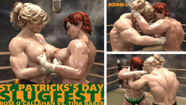 St. Patrick's Day Slugfest! Page 1 of 3 by AFCombat