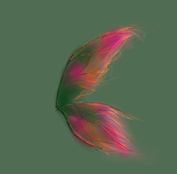 Fairy Wings ( Practice ) by Doodl3Bug21
