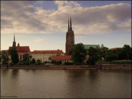 Wroclaw panorama by Rivenna
