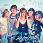 Hey Monday Blue Blend by cecywentz