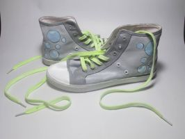 Derpy Hooves Cosplay High Tops by Acrylicolt
