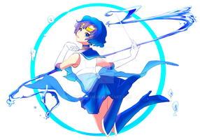 Sailor Mercury by nunsaram
