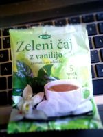Green tea with vanilla from Slovenia by thaonguyenp27