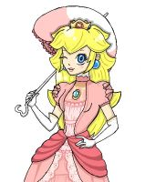 Brawl Set: Princess Peach by Kiersten-Chan