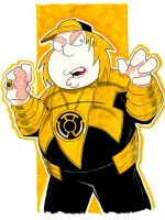Yellow Lantern Chris Griffin by misfitcorner