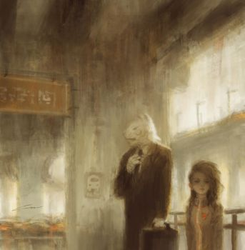 The Morning Commute (Original) by Alex-Chow