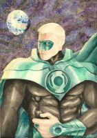 Green Lantern Alan Scott by SPITEREDESCENT