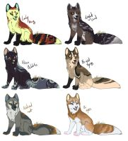 Fox point adopts~ {CLOSED} by Ticklebutt