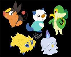 Pokemon Keychains by Meeps