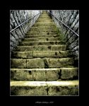 The Golden Stair by Hubzay