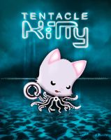 Tentacle Kitty On the Grid 2.0 by TentacleKitty